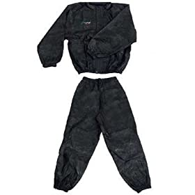 Frogg Toggs Pro Action Rainsuit Black Extra Large XL PA102-01-XL