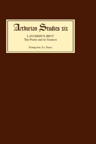 Layamon39s Brut The Poem and its Sources Arthurian Studies
