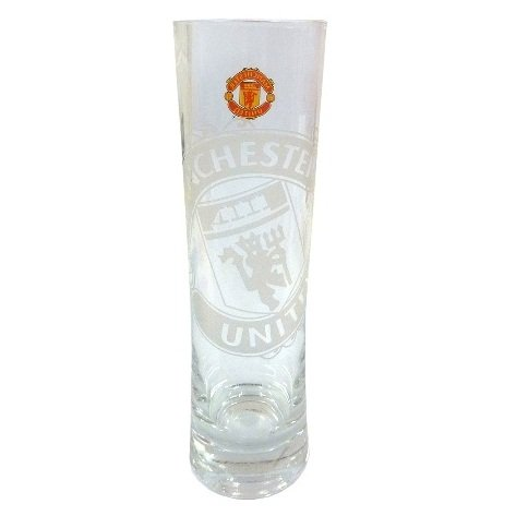 Manchester United Peroni Glass