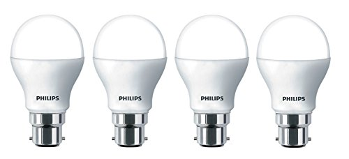 Philips Ace Saver 7W B22 625L LED Bulb (Cool Day Light, Pack Of 4)