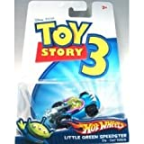 Toy Story 3 Hotwheels Die Cast Car - Little Green Speedster