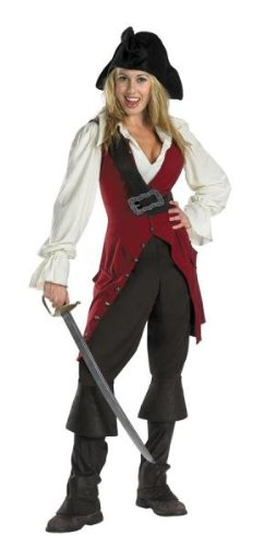 Costumes For All Occasions DG6674 Elizabeth Pirate Adult Deluxe