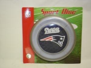NEW England Patriots Sport Disc NFL Frisbee Dog Toy