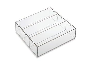 Clearform ML7700 Acrylic Tube Rack Organizer for 3-Place Rack, 270 Tubes Capacity