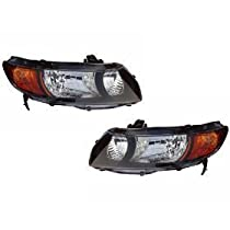 Depo 344-1109L-AS2 BMW 3 Series Driver Side Replacement Headlight Assembly