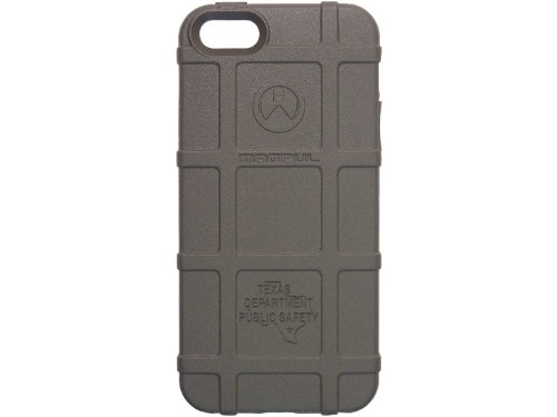 Police Tx Dps State Ol Engraved Magpul Mag452 Field Case Odg Olive Drab Green For Iphone 5 & 5S Engraved By Ndz Performance