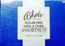 Asher's Sugar Free Milk and Dark Chocolate Assortment, 