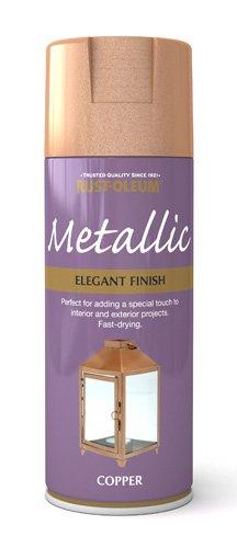 400ml Elegant Metallic Copper