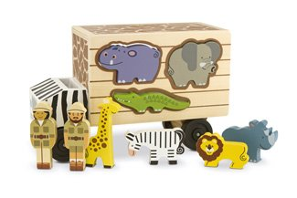 * Animal Rescue Shape Sorting Truck front-420930