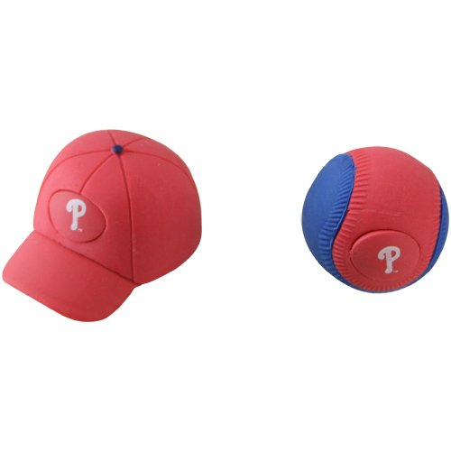 Forever Collectibles Wonderasers - PHILADELPHIA PHILLIES (ball & hat - 1 inch)