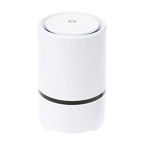 RIGOGLIOSO Portable Desktop anion sterilization Air Purifier Remove Cigarette Smoke, Odor Smell, Bacteria