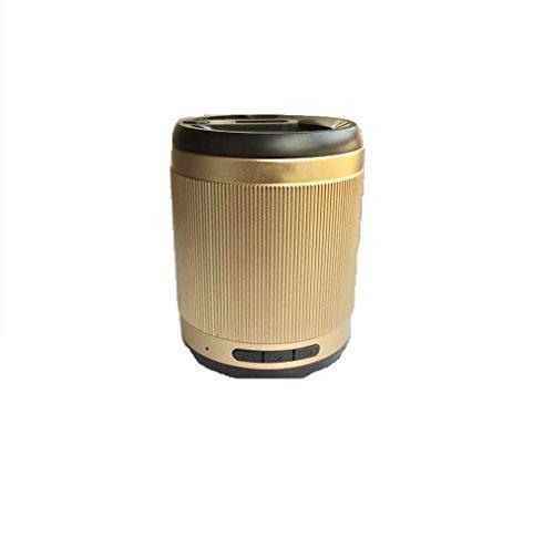 Mobilegear Mini Curved Metallic Design Bluetooth Speaker