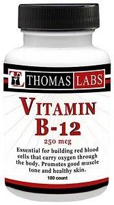 Thomas Labs Vitamin B-12 250Mcg (100 Count)