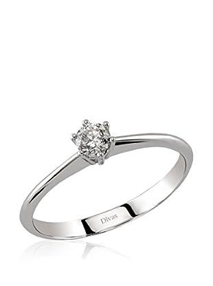 Divas Diamond Anillo (Oro Blanco)