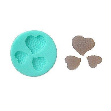 TTOMI Silicone souple de décoration de gâteau moule en forme de coeur