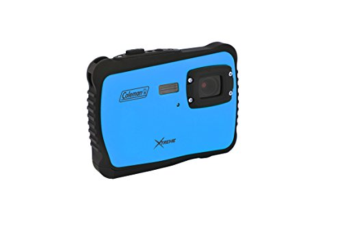 Coleman C6WP-BL Xtreme 12.0 MP/HD Underwater Digital & Video Camera (Blue) (Coleman Focus compare prices)