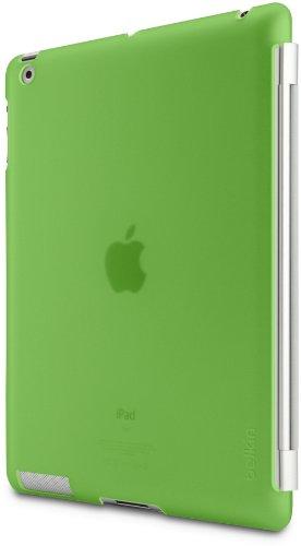 Belkin Snap Shield grün / transparent Schutzhülle für Apple iPad 4, iPad 3, iPad 2