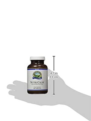 NATURE'S SUNSHINE Nutri-Calm Tablets, 100 Count