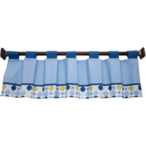 Simply Baby By Nojo - Hugs & Kisses Boy Window Valance - 1