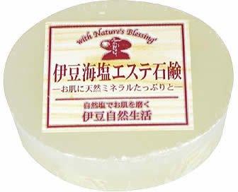 伊豆海塩エステ石鹸 白