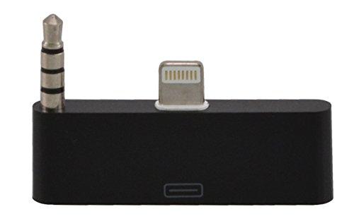 Audio adapteur pour connecter 30 vers 8 pin pour iPhone 5, 5c et 5s / idéal pour la transmission audio / en noir de TW-Handy