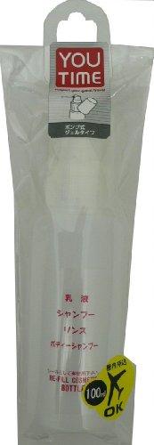 貝印 ジェルポンプ乳白色 100ml KC0832