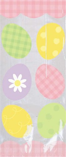 Some Bunny to Love Cello Party Bags - 20/Pack (11.5inH x 5inW x 3.25inD)