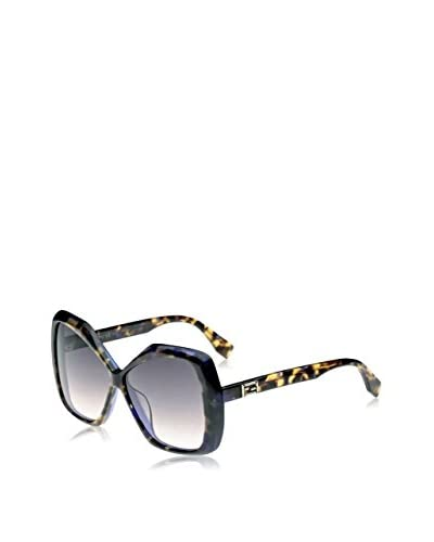 Fendi Occhiali da sole 0092/S D53/9C (58 mm) Nero/Beige
