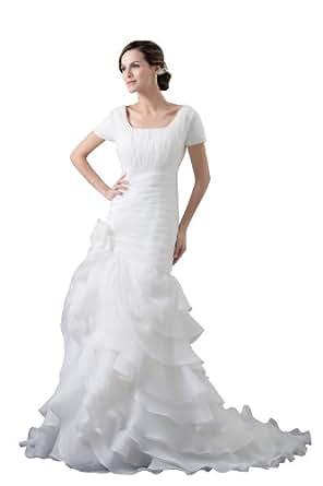 Herafa Wedding Dress Elegant NOw35391 Amazon Fashion