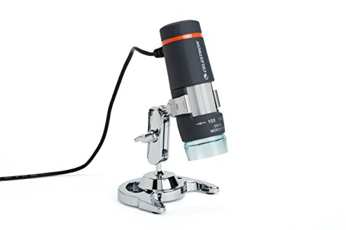 Celestron 44302 Deluxe Handheld Digital Microscope 2MP (Electron Microscope compare prices)