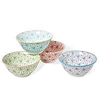 Sashiko Colors Bowl Set of Four