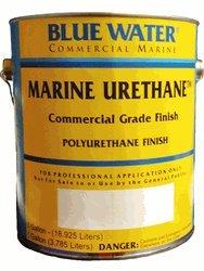 Marine Urethane Marine Black Semi-gloss - Gallon Kit - Marine Paint Finish - iPaint.us