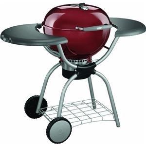 weber stephen products plat 22 1 2 39 red kettle 1364001 charcoal grill for weber. Black Bedroom Furniture Sets. Home Design Ideas