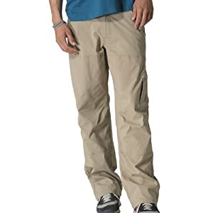 prAna Men's Stretch Zion Pant 32-Inch Inseam, Khaki, Medium