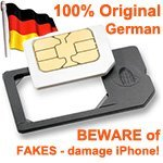 Visionaer ® Micro-Sim Adapter / Adaptateur pour iPad / iPhone 4G MADE & PATENTED IN GERMANY