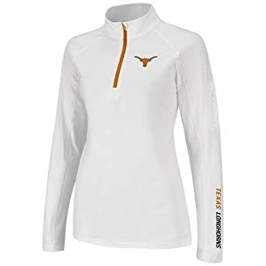 Texas Longhorns Ladies Performance Long Sleeve Pullover by Colosseum