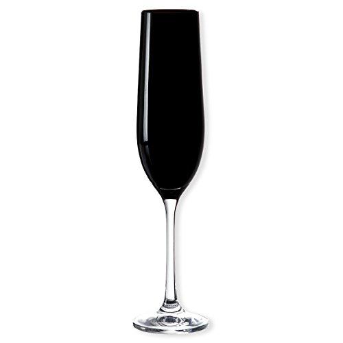 kad-schwarz-champagnerglas-lot-de-6