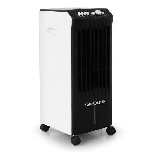 Klarstein MCH-1 Climatizador 3 en 1 (Funci�n de humidificaci�n y purificaci�n del aire, 3 niveles, port�til, 1 L/hora, 400m�/h, consumo reducido 65W)