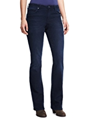 Indigo Collection Slim Fit Bootleg Jeans