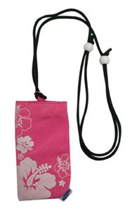 Housse universelle Pouchflower pink