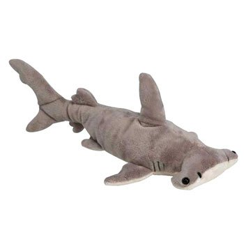 Fiesta toys hammerhead hammer head shark plush stuffed for Life size shark plush
