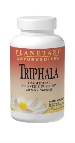Planetary Herbals Triphala, Traditional Ayurvedic Purifier, 500 Mg, 180 Capsules (Pack Of 2)