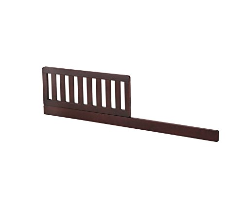 Simmons Kids Slumbertime Daybed and Toddler Guardrail, Molasses