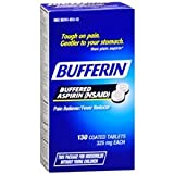 Bufferin Buffered Aspirin 325 mg, Coated Tablets130.0 ea 3 pack