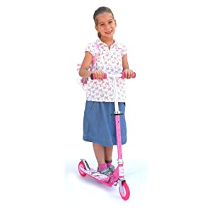 Trotinette 2 roues - Hello Kitty - en Alluminium: ...