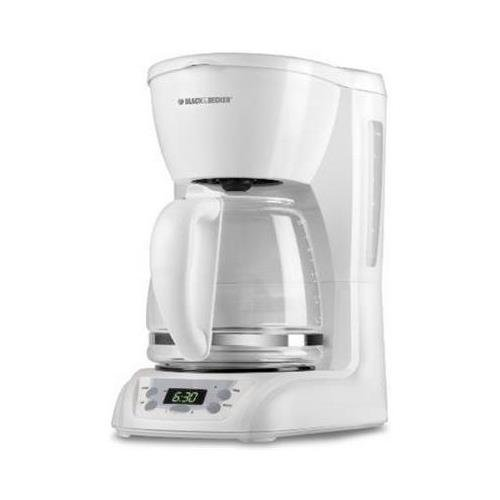 Black & Decker DLX1050 12-Cup Programmable Coffeemaker with Glass Carafe by Black & Decker ...