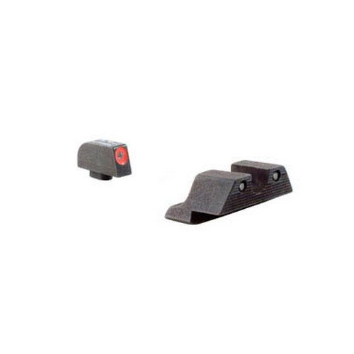 Trijicon Glock Night Sight Set, (Orange) (Color: HD Orange Front Outline, Tamaño: One Size)