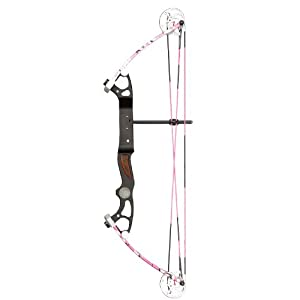 Alpine Rookie Right Hand Bow, Pink Camo, 10 to 35-Inch by Alpine