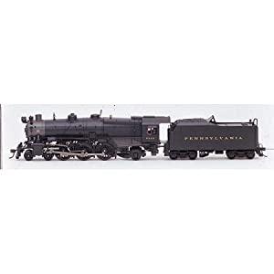 Bachmann Spectrum K4 4-6-2 Pacific Steam Locomotive #5448 Pennsylvania H O Series Train Set 2003