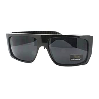 amazon   locs sunglasses mens flat top square gangster